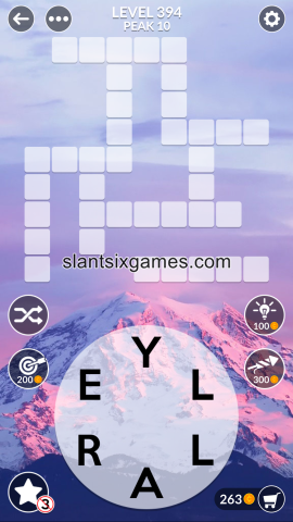 Wordscapes level 394