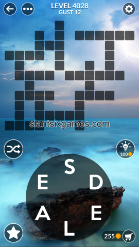 Wordscapes level 4028