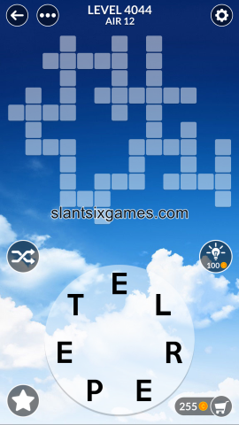 Wordscapes level 4044