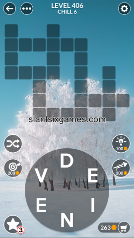 Wordscapes level 406