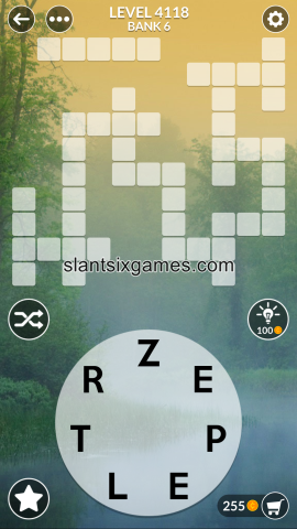 Wordscapes level 4118