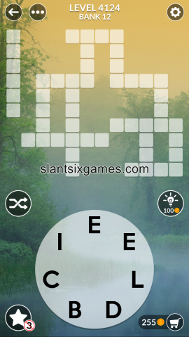 Wordscapes level 4124