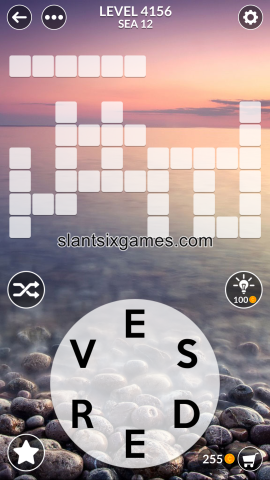 Wordscapes level 4156
