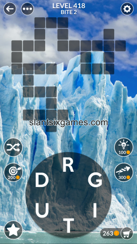 Wordscapes level 418