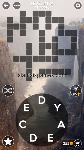 Wordscapes level 4184