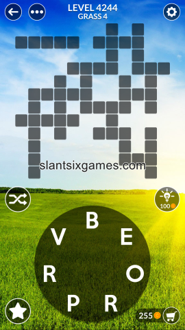 Wordscapes level 4244