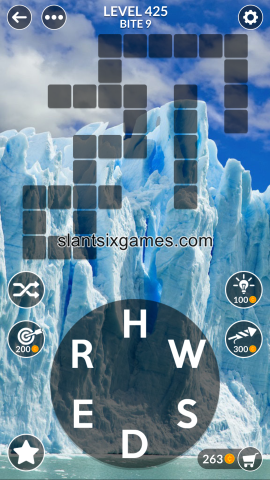 Wordscapes level 425