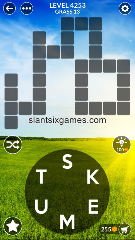 Wordscapes level 4253