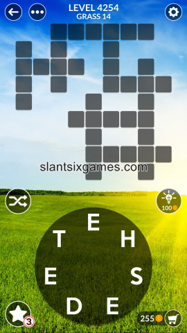 Wordscapes level 4254