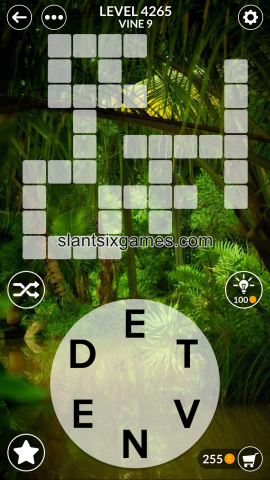 Wordscapes level 4265