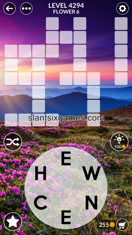 Wordscapes level 4294