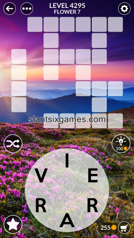 Wordscapes level 4295