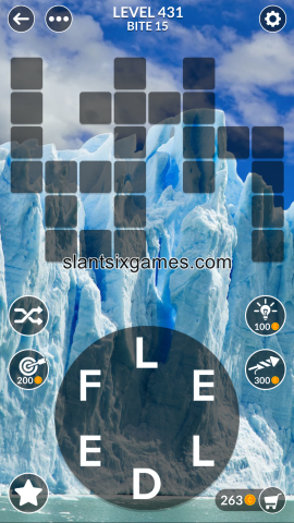 Wordscapes level 431