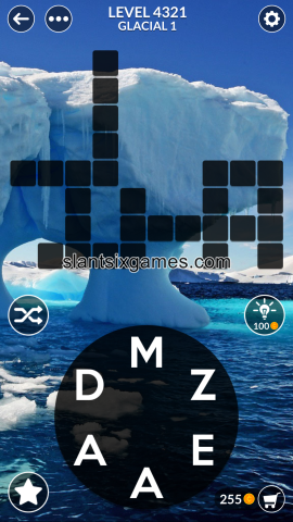 Wordscapes level 4321