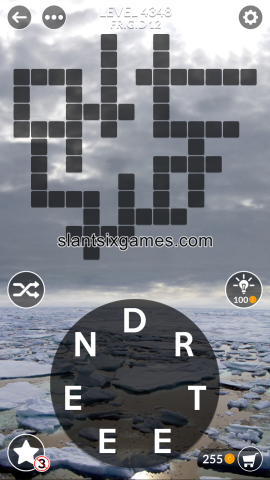 Wordscapes level 4348