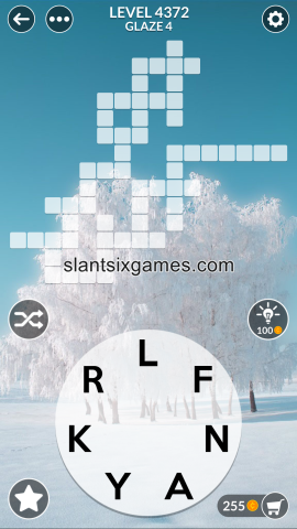 Wordscapes level 4372