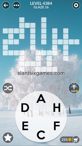 Wordscapes level 4384