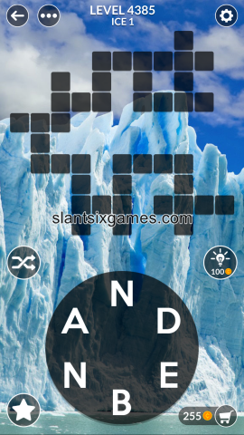 Wordscapes level 4385