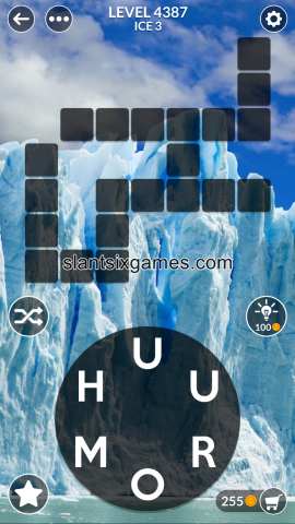 Wordscapes level 4387