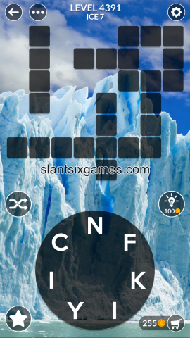 Wordscapes level 4391