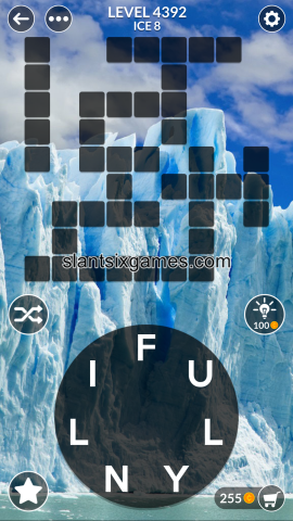 Wordscapes level 4392
