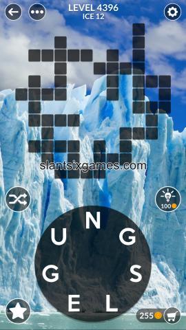 Wordscapes level 4396