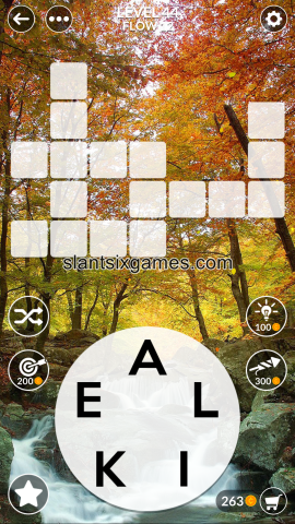 Wordscapes level 44