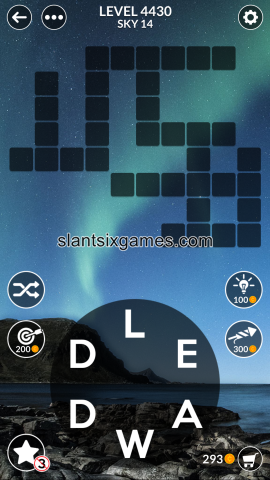 Wordscapes level 4430