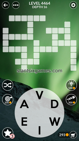 Wordscapes level 4464