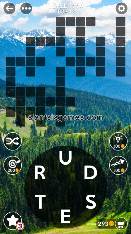 Wordscapes level 4556