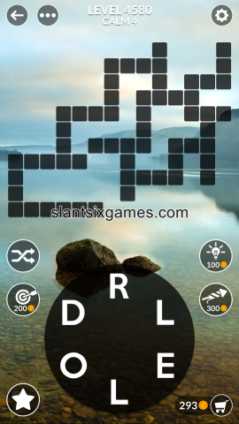 Wordscapes level 4580
