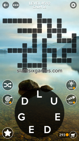 Wordscapes level 4592