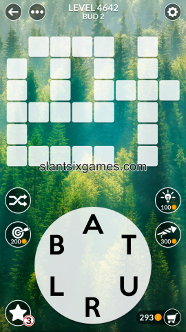 Wordscapes level 4642
