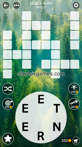 Wordscapes level 4649