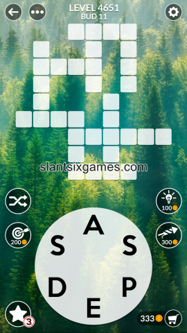 Wordscapes level 4651