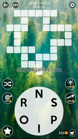 Wordscapes level 4653