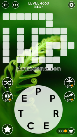 Wordscapes level 4660