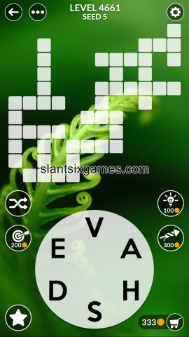 Wordscapes level 4661