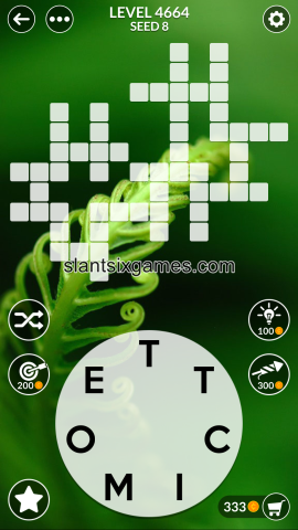 Wordscapes level 4664