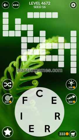 Wordscapes level 4672