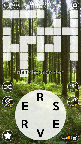 Wordscapes level 4693