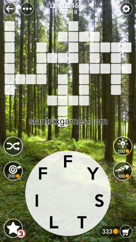 Wordscapes level 4696