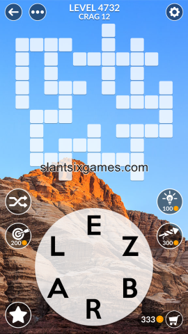 Wordscapes level 4732