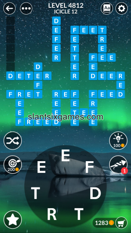 Wordscapes level 4812