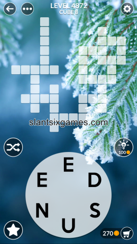 Wordscapes level 4872