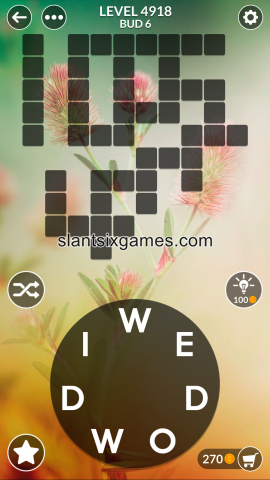 Wordscapes level 4918