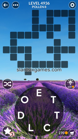 Wordscapes level 4936