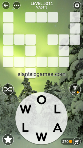 Wordscapes level 5011