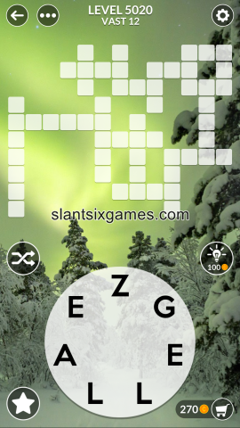 Wordscapes level 5020