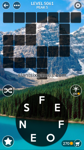 Wordscapes level 5061